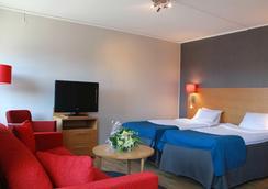 スパー ホテル ゴルダ - ヨーテボリ - 寝室