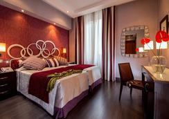 ホテル モルガナ - ローマ - 寝室