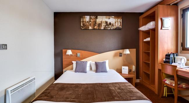 Brit Hotel Saint-Nazaire Centre Gare - サンナゼール - 寝室