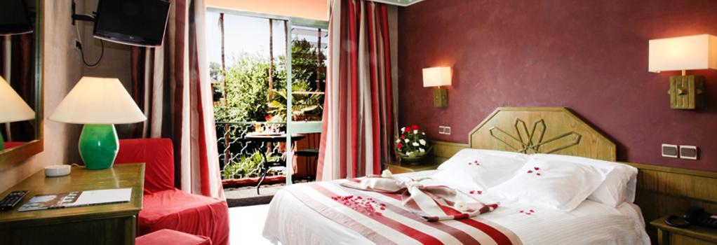 シェムス ホテル - マラケシュ - 寝室