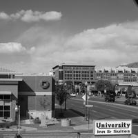 University Inn and Suites Exterior detail
