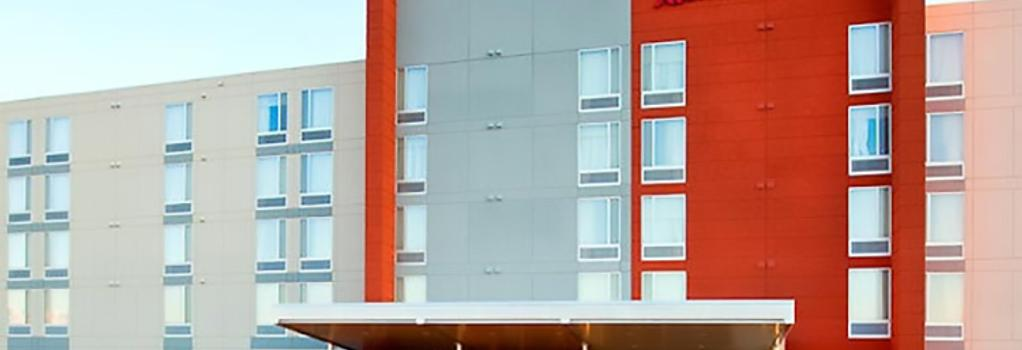SpringHill Suites by Marriott Salt Lake City Airport - ソルトレイクシティー - 建物