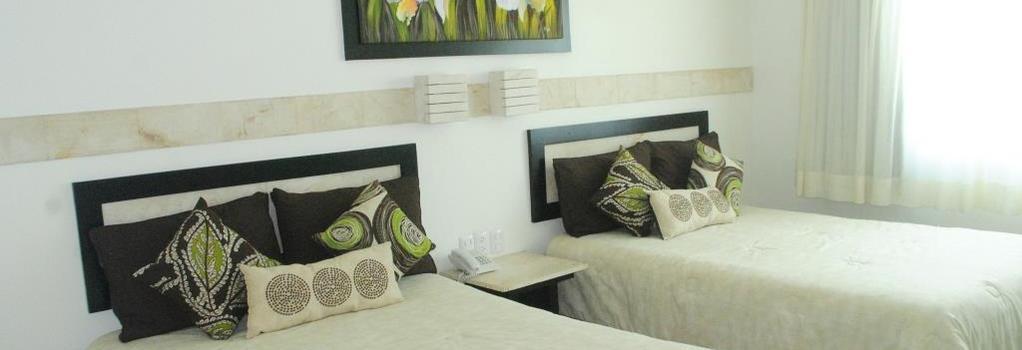 Hotel Tulijá Express Palenque - パレンケ - 寝室