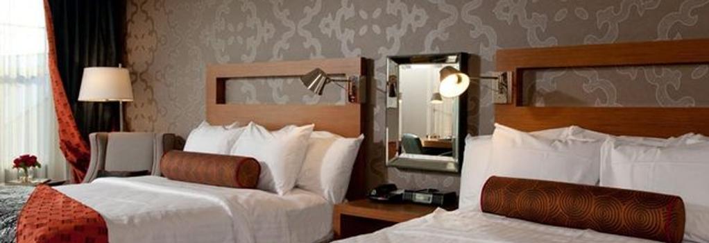 Six South St. Hotel - Hanover - 寝室