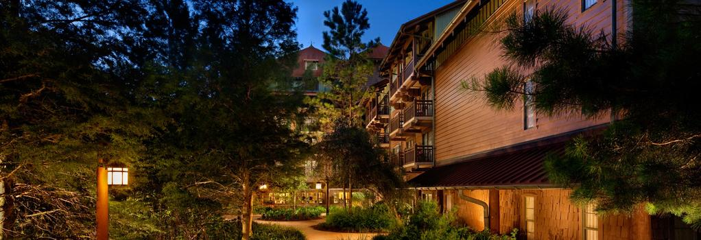 Boulder Ridge Villas At Disney's Wilderness Lodge - オーランド - 建物