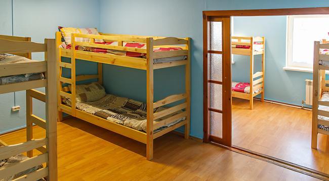 Happy Hostel - ミンスク - 寝室