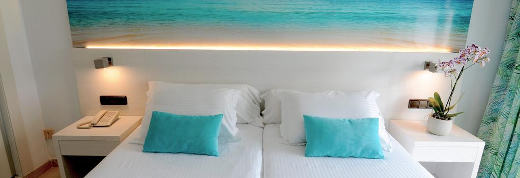 Hotel Ipanema Beach - エル・アレナル - 寝室