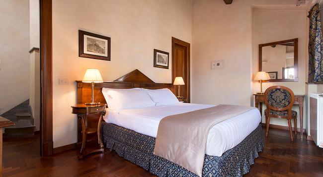 ホテル テアトロ パーチェ - ローマ - 寝室
