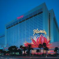フラミンゴ ラスベガス ホテル & カジノ Hotel Front - Evening/Night