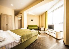 Hotel Pelikan - クラスノダール - 寝室