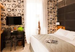 ホテル ドゥ シルエット - ビアリッツ - 寝室