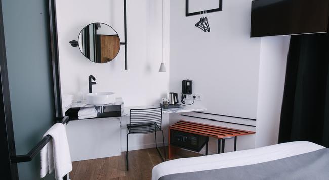 Atypik Hôtel - クリシー - 寝室