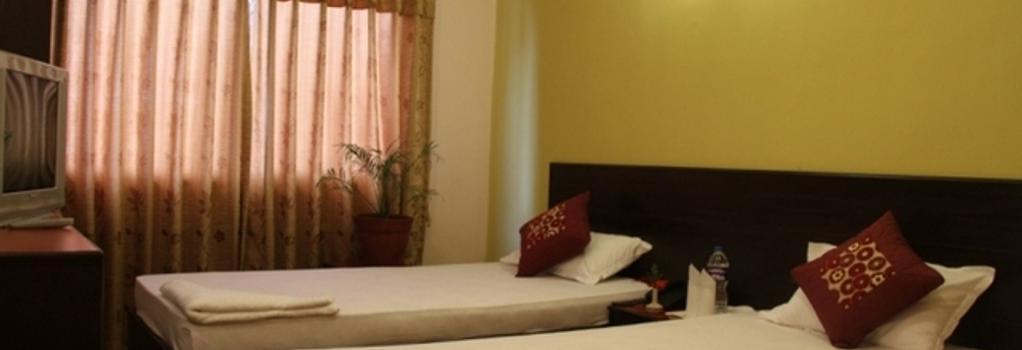 Cascade Hotel - カトマンズ - 寝室