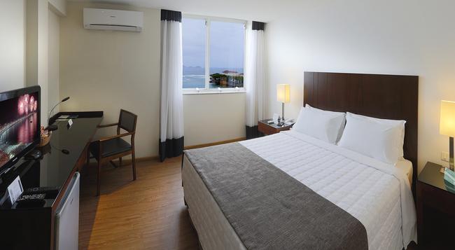 Orla Copacabana Hotel - リオデジャネイロ - 寝室