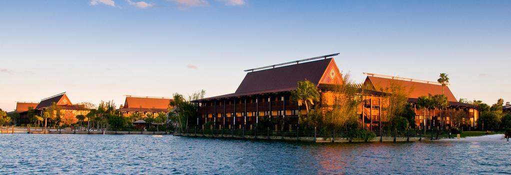 Disney's Polynesian Resort - レイク・ブエナ・ビスタ - 建物