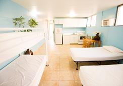 ワイキキ ビーチサイド ホステル - ホノルル - 寝室
