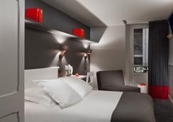 ル フォーシニー ホテル ドゥ シャルム - シャモニー・モンブラン - 寝室