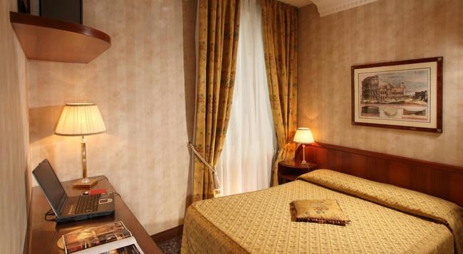 ホテル コンドッティ - ローマ - 寝室