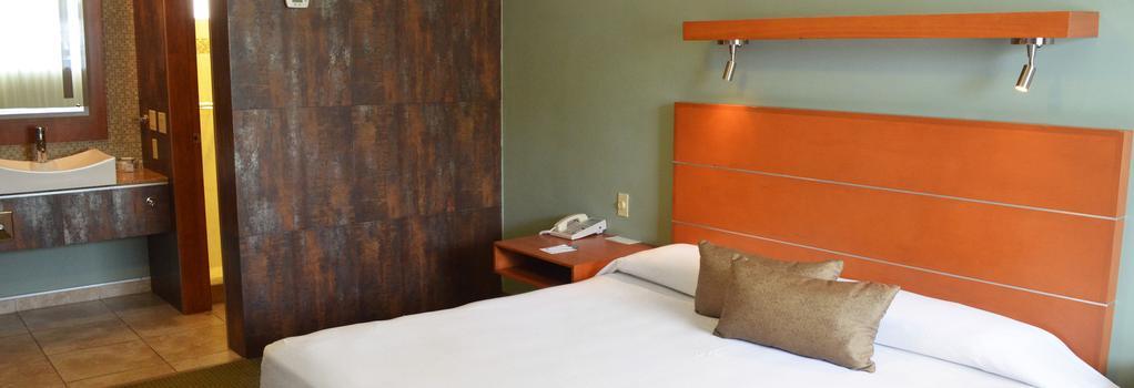 Calafia Hotel - Mexicali - 寝室