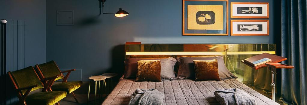 ホテル ボルゴ ヌオーヴォ - ミラノ - 寝室