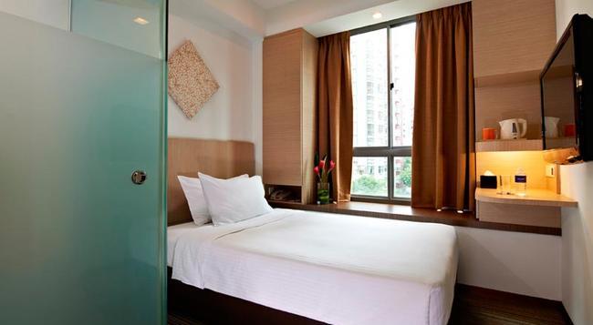 アクイーン ホテル バレスティア - シンガポール - 寝室