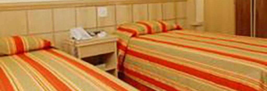 ホテル アトランティコ コパカバーナ - リオデジャネイロ - 寝室