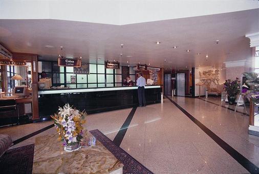 ホテル アトランティコ コパカバーナ - リオデジャネイロ - フロントデスク