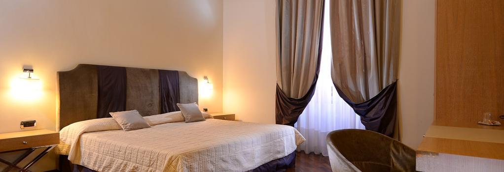 Hotel Golden - ローマ - 寝室