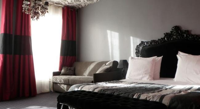 イデアル ホテル デザイン - パリ - 寝室