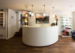 ホテル レジデンス ル コワ - アムステルダム - フロントデスク
