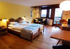 ホテル アラリン - Saas-Fee - 寝室