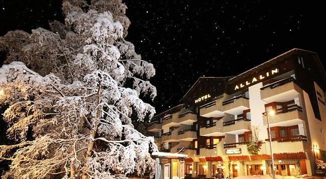 ホテル アラリン - Saas Fee - 建物