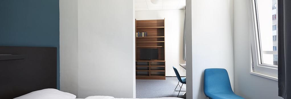 ザ ステューデント ホテル ロッテルダム - ロッテルダム - 寝室