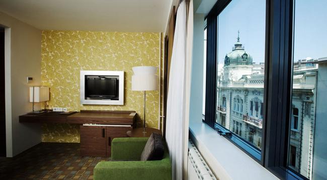 ベオグラード アート ホテル - ベオグラード - 寝室