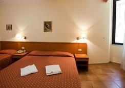 ホテル エマウス - ローマ - 寝室
