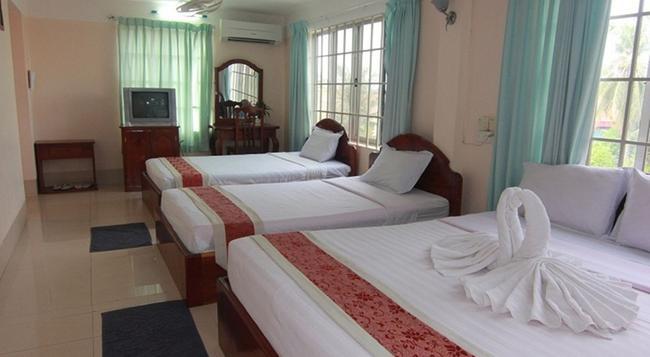シェムリアップ リバーサイド ホテル - シェムリアップ - 寝室