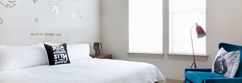 Guild University Park - オースティン - 寝室