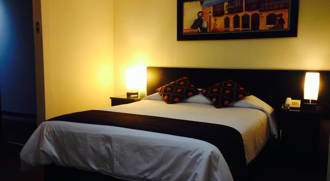 Hotel Ferré Colonial - リマ - 寝室