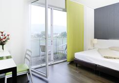 ハリーズ ホーム リンツ ホテル & アパートメンツ - リンツ - 寝室