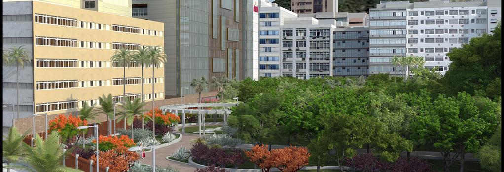 Arena Ipanema Hotel - リオデジャネイロ - 建物