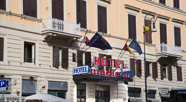 マディソン ホテル - ローマ - 建物