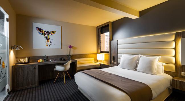 オテル ド ブリエンヌ - トゥールーズ - 寝室