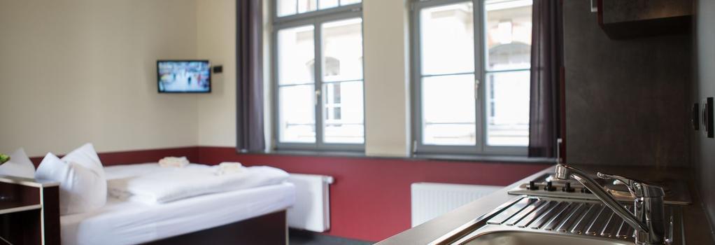 アパリオン アパートメンツ ライプチヒ シティ - ライプツィヒ - 寝室