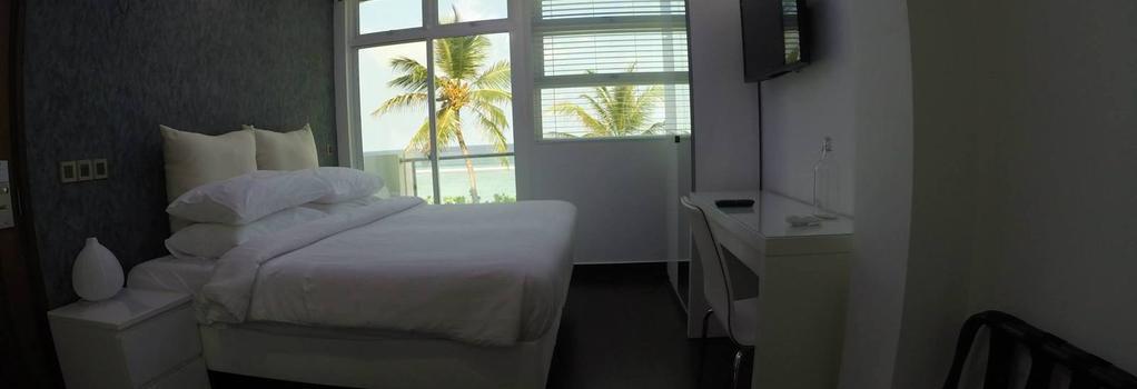 エアポート ビーチホテル - Hulhumale - 寝室