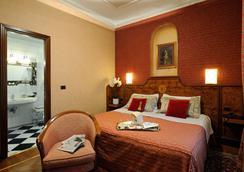 ホテル ファルネーゼ - ローマ - 寝室