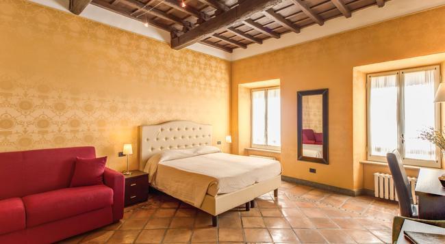 ホテル アポロ - ローマ - 寝室