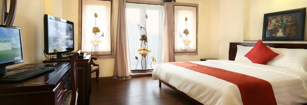 Charming 2 Hotel - ハノイ - 寝室