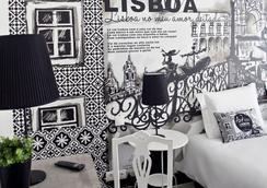 ザ アート イン リスボン - リスボン - 寝室