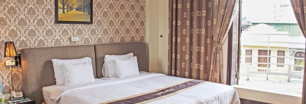 A25 ホテル ギアンボ - ハノイ - 寝室