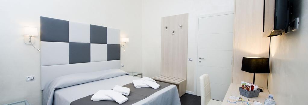 グレー&ホワイト B&B - ローマ - 寝室
